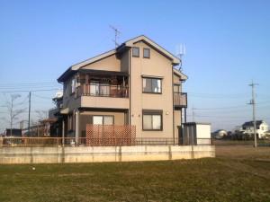 土地を購入してから新築しました。